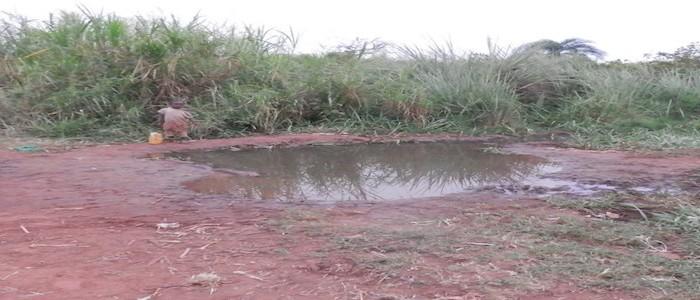 Conducción hidráulica a Katwe