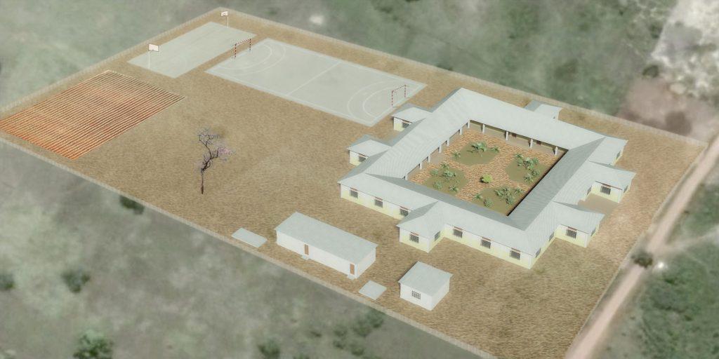 Nuestro Gran Proyecto Construcción Escuela en Ikoba